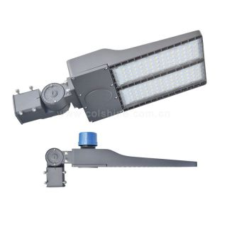100W 200W 300W led Parking Lot Shoebox Light Pole Fixture Lighting Outdoor Street Area Lights