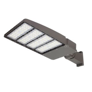 LED shoebox area light fixtures